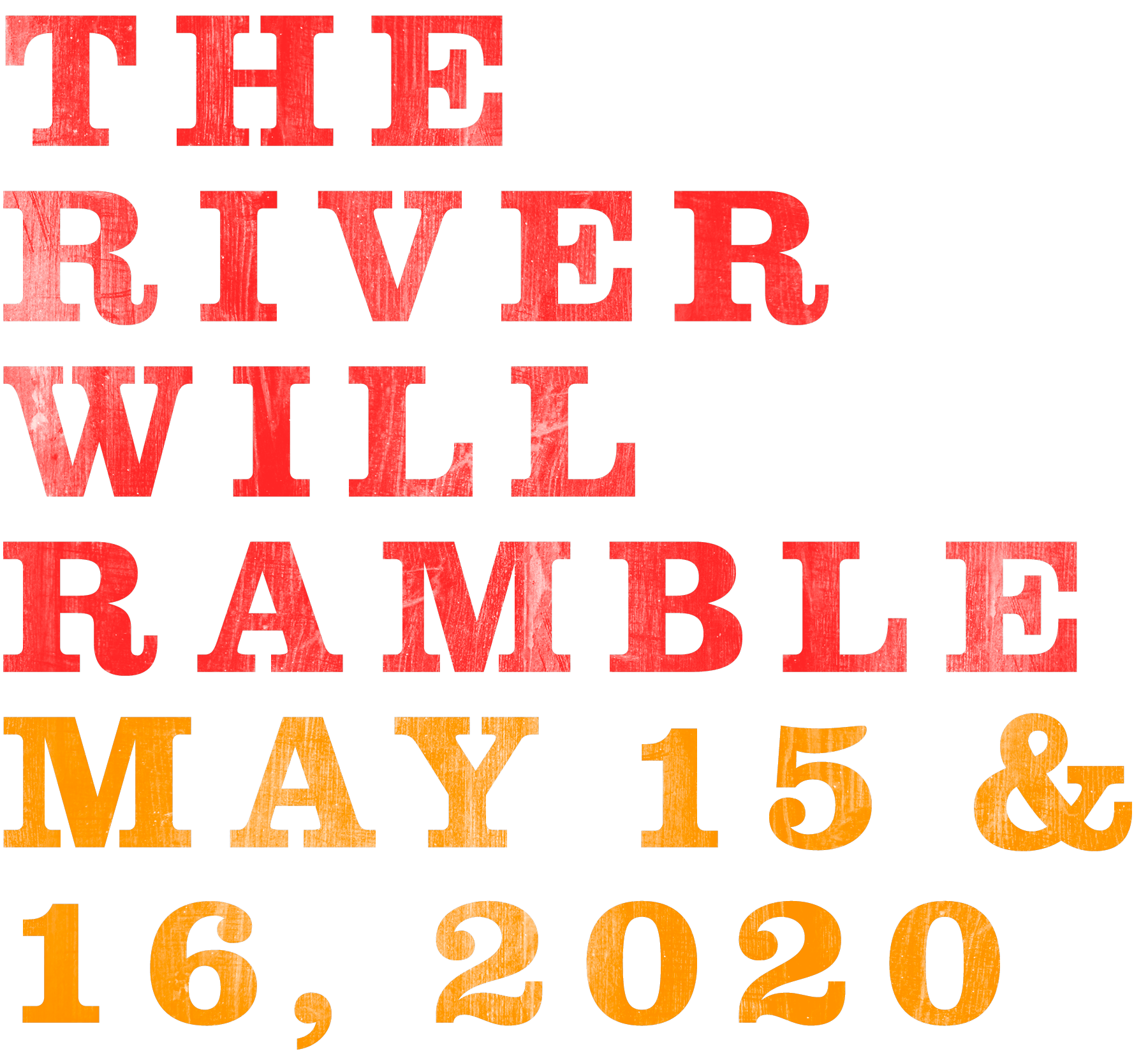 River and Blues Music Festival May 15th and 16th, 2020