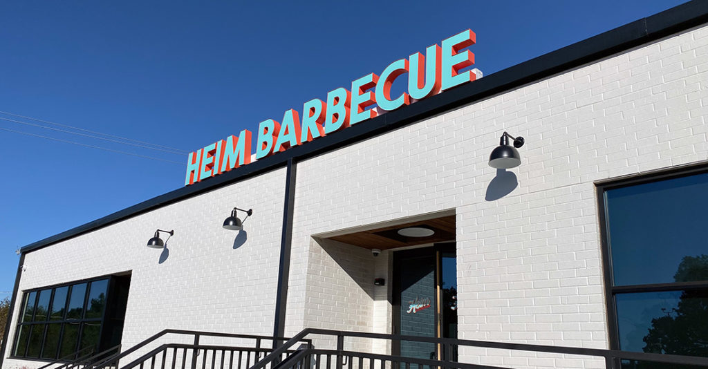 Heim Barbecue Food Sponsor for River & Blues Festival