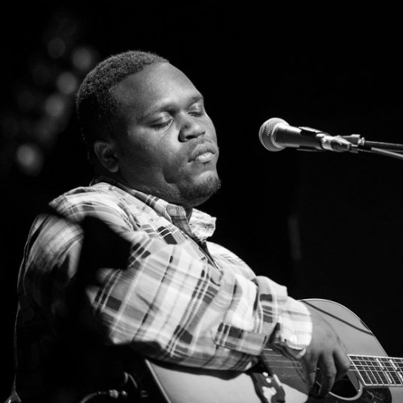 Jontavious Willis Performing at the River & Blues Festival